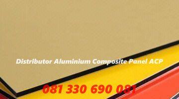 Jual Alminium Composite Panel (ACP) Alumebond Kirim ke  Ponorogo