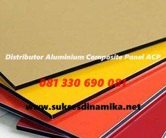 Jual Alminum Composite Panel (ACP) Alucobond Kirim ke  Sampang